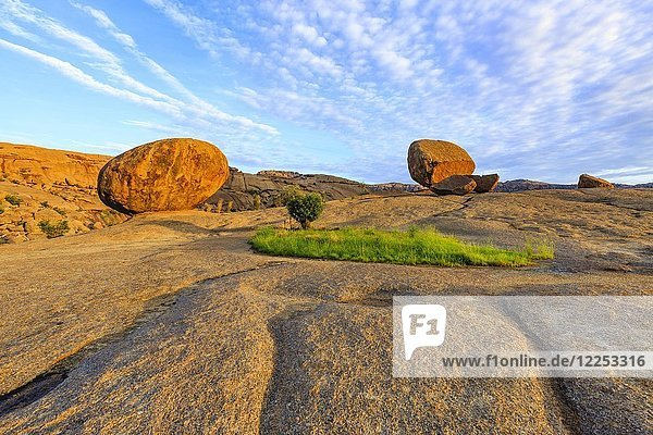 Felsen  Felsformation Bulls Party  Bull's Party  Farm Ameib  Erongo Region  Namibia  Afrika