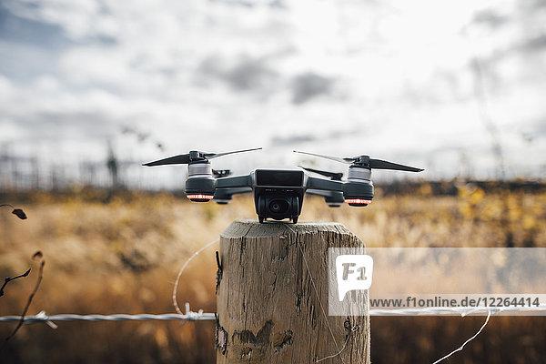Kanada  British Columbia  Drohne