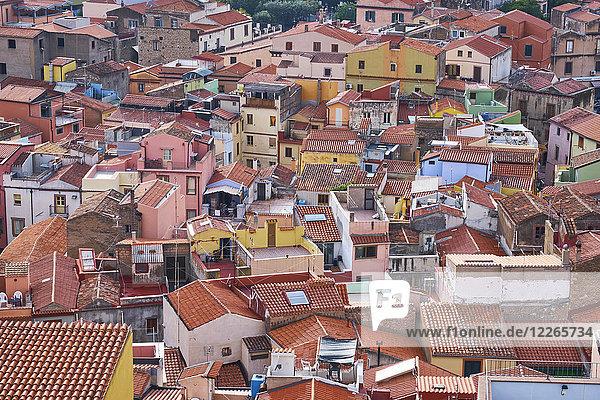 Italien  Sardinien  Bosa  Stadtbild