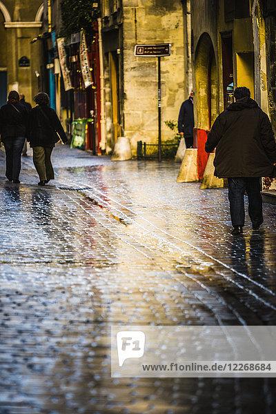 Street in Paris  France