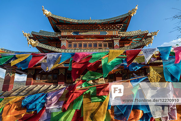 Ganden-Sumtseling-Kloster  Bezirk Shangri-La  Yunnan  China