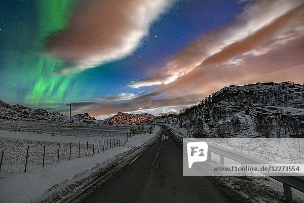 Bostad  Lofoten  Norway  Europe.