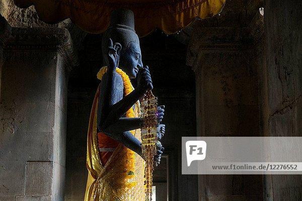 Vishnu statue.