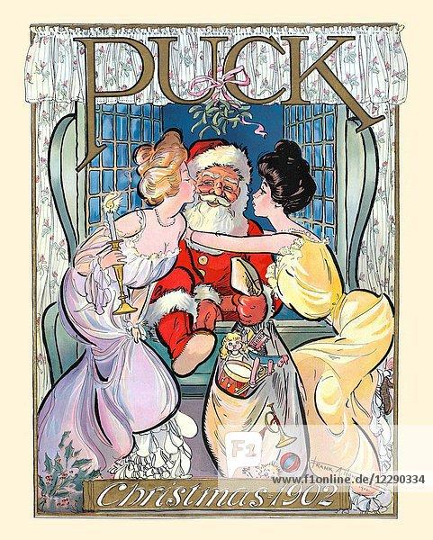 Puck Christmas 1902
