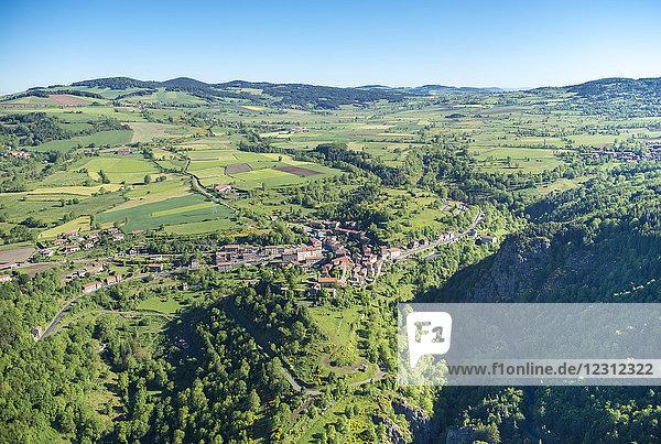 France  Auvergne  Saint-Privat-d'Allier