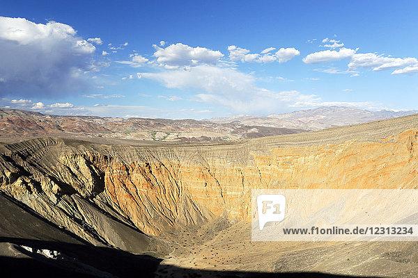 USA. California. Death Valley. Ubehebe Crater. Volcano.