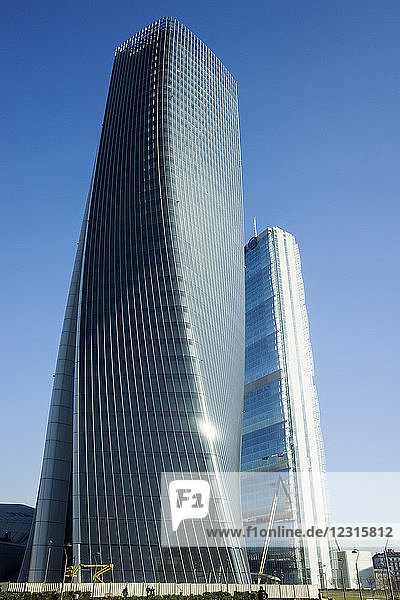 ITALY  LOMBARDY  MILAN  CITYLIFE DISTRICT  HADID TOWER