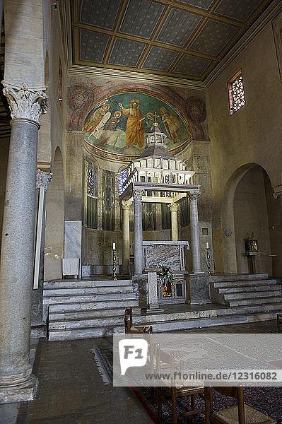 Europe. Italy  Rome  church of San Giorgio al Velabro