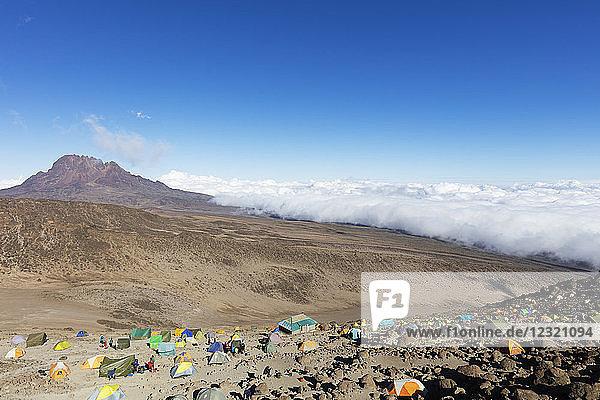 Barafu high camp  Kilimanjaro National Park  UNESCO World Heritage Site  Tanzania  East Africa  Africa