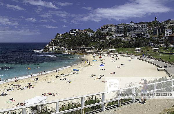 Bronte Beach  Sydney  New South Wales  Australia  Pacific