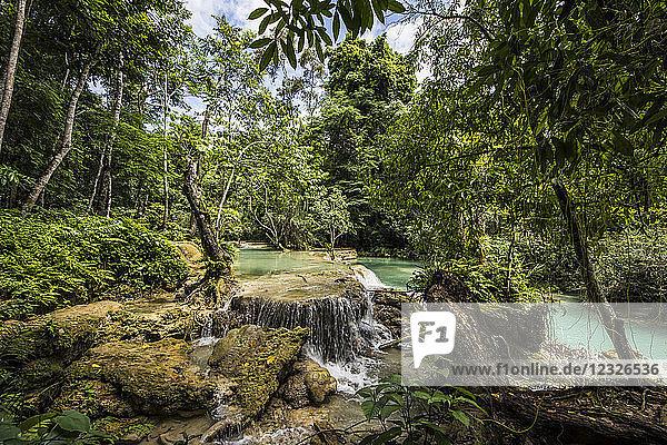 Kuang Si Falls; Luang Prabang  Laos