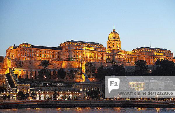 Hungary  Budapest  Royal Palace  Danube River