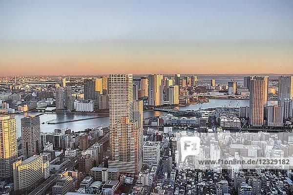Japan  Tokyo City  Kachidoki area