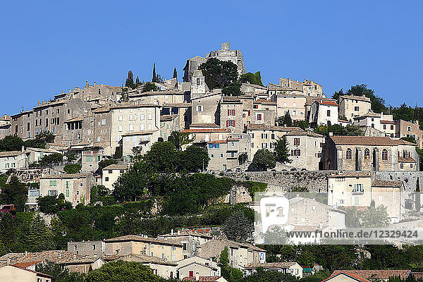 France  Provence Alpes Cote d'Azur  Alpes de Haute Provence (04)  Simiane la Rotonde