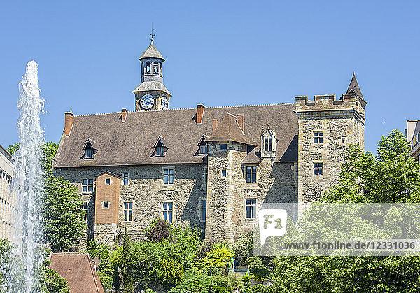 France  Auvergne  Allier  Montlucon  Dukes of Bourbon castle.