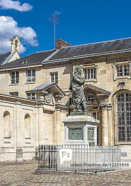 France  Paris 5th district  Val de Grace  statue of the medical officer Dominique Jean Larrey  Museum of the Health Service in the Armies