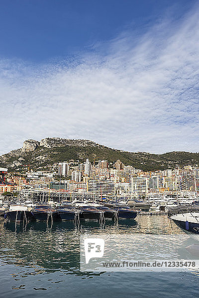 Principality of Monaco  Monaco  Monte Carlo  View from Port Hercule