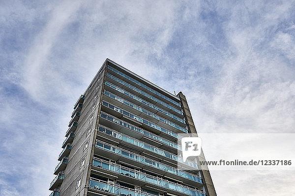 Netherlands  Zandvoort  high-rise building