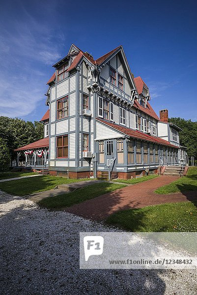 USA  New Jersey  Cape May  Emlen Physick Estate  historic home.