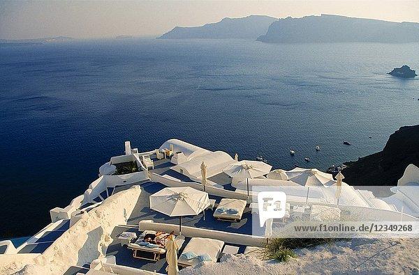 Oia. Santorini. Cyclades islands  Greece