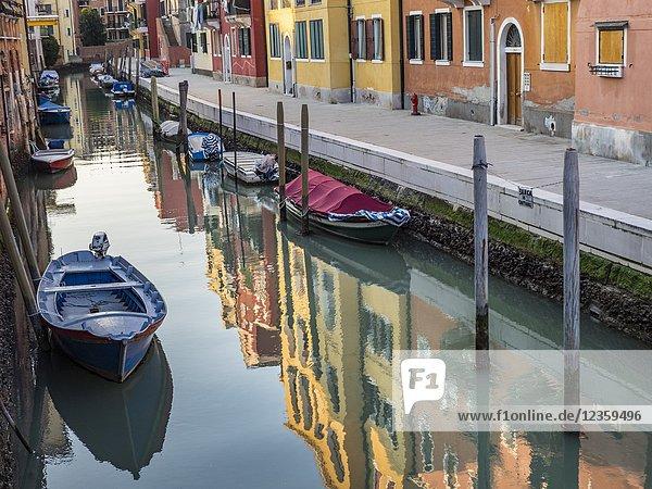 Reflections. Venice  Italy.