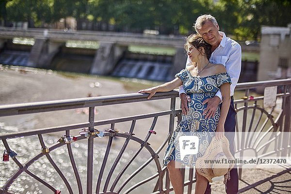 Couple  pregnancy  romantic  age difference  love. Munich  Germany.