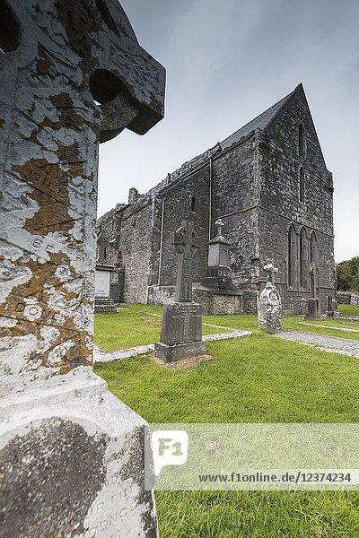 Corcomroe Abbey  The Burren  County Clare  Ireland.