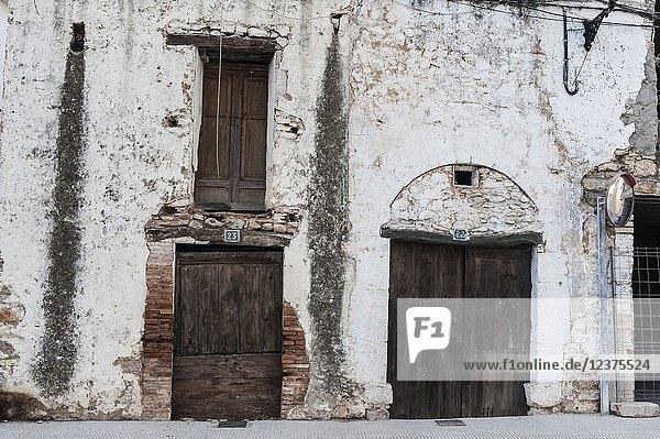 House in the Antigua Area of San Mateo  Castellon  Spain