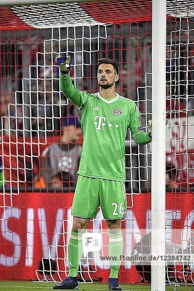 Torwart Sven Ulreich  FC Bayern München  Allianz Arena  München  Bayern  Deutschland  Europa