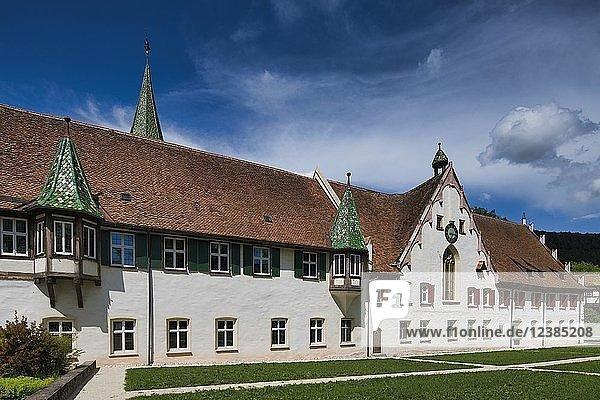 Seminarraum und Speisesaal  Kloster  Klosterkirche in Blaubeuren  Schwäbische Alb  Baden-Württemberg  Deutschland  Europa