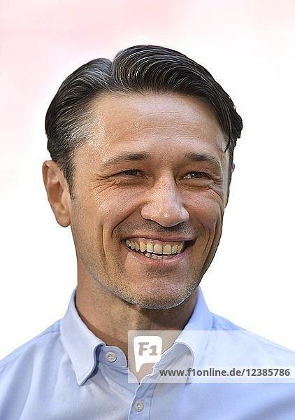 Portrait  Trainer Niko Kovac  FC Bayern München  Allianz Arena  München  Bayern  Deutschland  Europa
