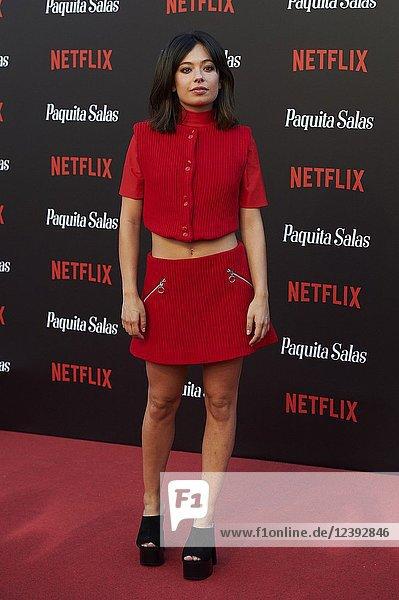 Anna Castillo attends 'Paquita Salas' Netflix Series Premiere at Callao Cinema on June 28  2018 in Madrid  Spain