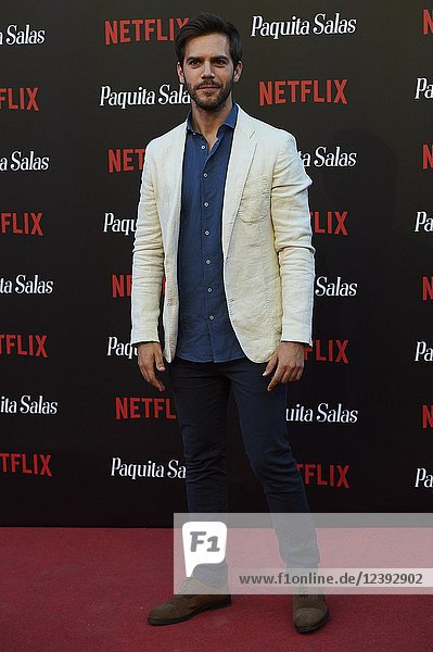 Marc Clotet attends 'Paquita Salas' Netflix Series Premiere at Callao Cinema on June 28  2018 in Madrid  Spain