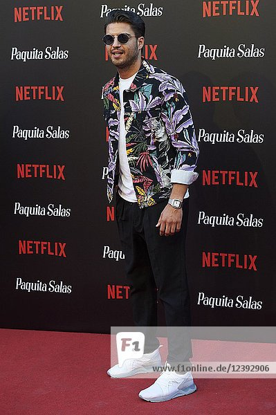 Maxi Iglesias attends 'Paquita Salas' Netflix Series Premiere at Callao Cinema on June 28  2018 in Madrid  Spain