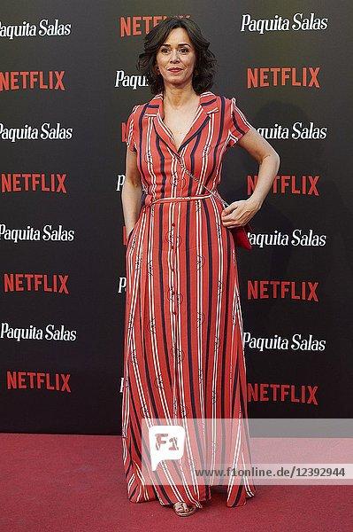 Fanny Gautier attends 'Paquita Salas' Netflix Series Premiere at Callao Cinema on June 28  2018 in Madrid  Spain