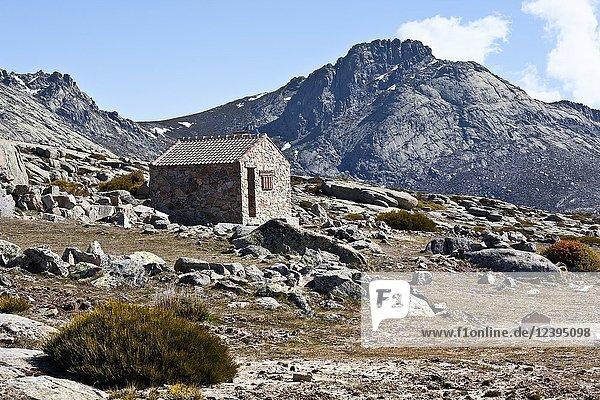 Refuge in the Sierra de la Paramera. Navandrinal. Avila. Spain