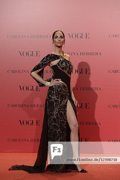 Eugenia Silva attends Vogue 30th Anniversary Party at Casa Velazquez on July 12  2018 in Madrid  Spain