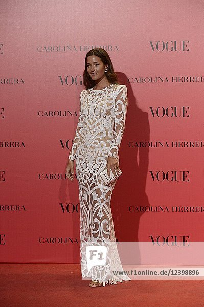 Malena Costa attends Vogue 30th Anniversary Party at Casa Velazquez on July 12  2018 in Madrid  Spain