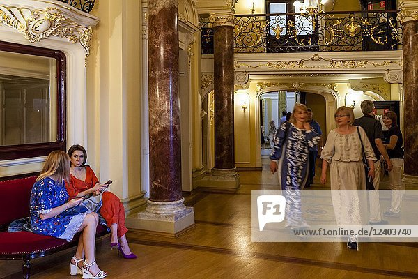 The Odessa National Academic Theatre of Opera and Ballet  Odessa  Ukraine.
