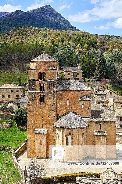 Santa Cruz de la Seros  Huesca province  Aragón  Spain  Europe