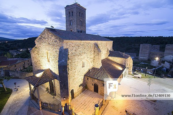 Buitrago del Lozoya is a walled village in Madrid province Spain. Santa Maria del Castillo church.