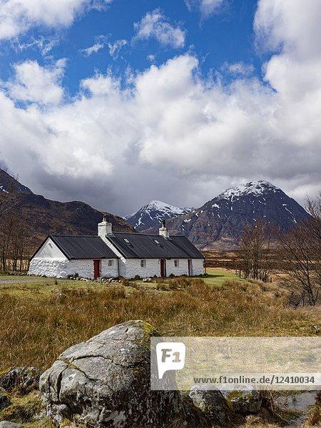 Scotland Glencoe Cottage.