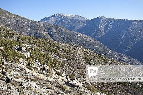 Sierra del Cabezo from Sierra Aguda. Avila. Spain