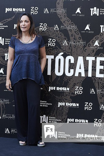 Cristina Plazas attends 'Tocate' premiere at Academia de Cine on July 23  2018 in Madrid  Spain.