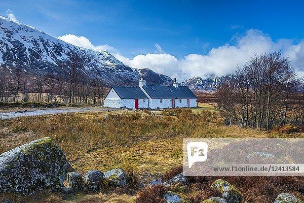 Blackrock Cottage  Glencoe  Argyll  Scotland  United Kingdom  Europe.