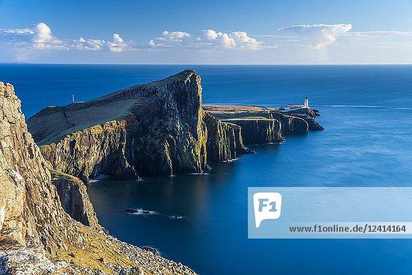 Neist Point  Isle of Skye  Highland  Scotland  United Kingdom  Europe.