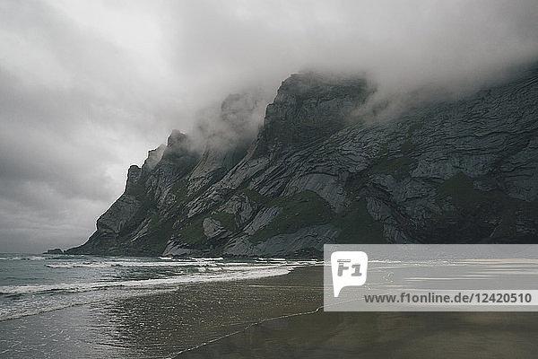 Norway  Lofoten  Moskenesoy  Bunes Beach