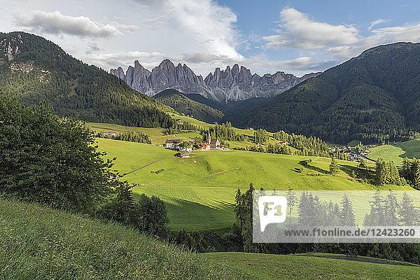 Italy  Alps  Dolomites  Santa Magdalena  Vilnoess Valley