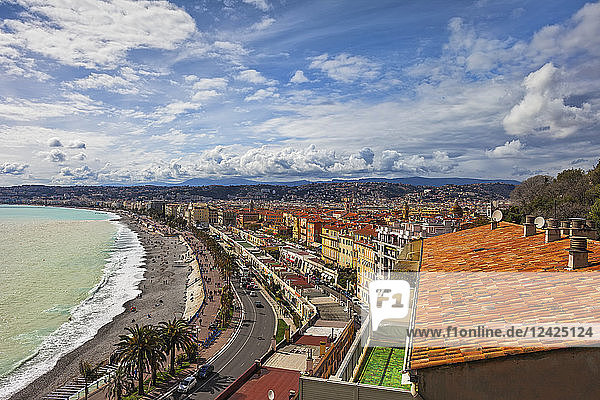 France  Provence-Alpes-Cote d'Azur  Nice  Promenade des Anglais