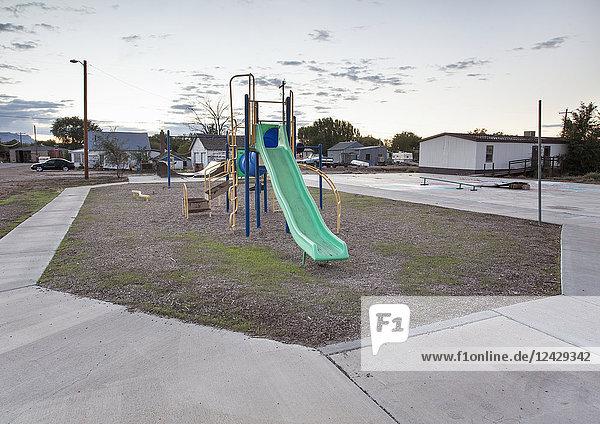 Kinderspielplatz  Utah  USA